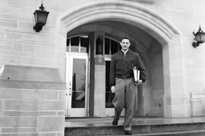 Birch Bayh as a young man at IU