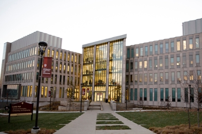 Exterior of Luddy Hall at IU Bloomington