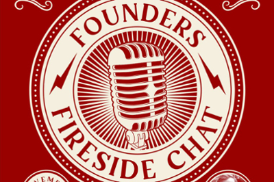 The Founders Fireside Chats logo