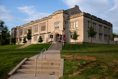 A building on the IU Bloomington campus