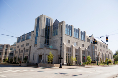The Kelley School of Business building