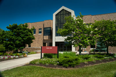 Outdoor shot of Hayes Hall at IU East