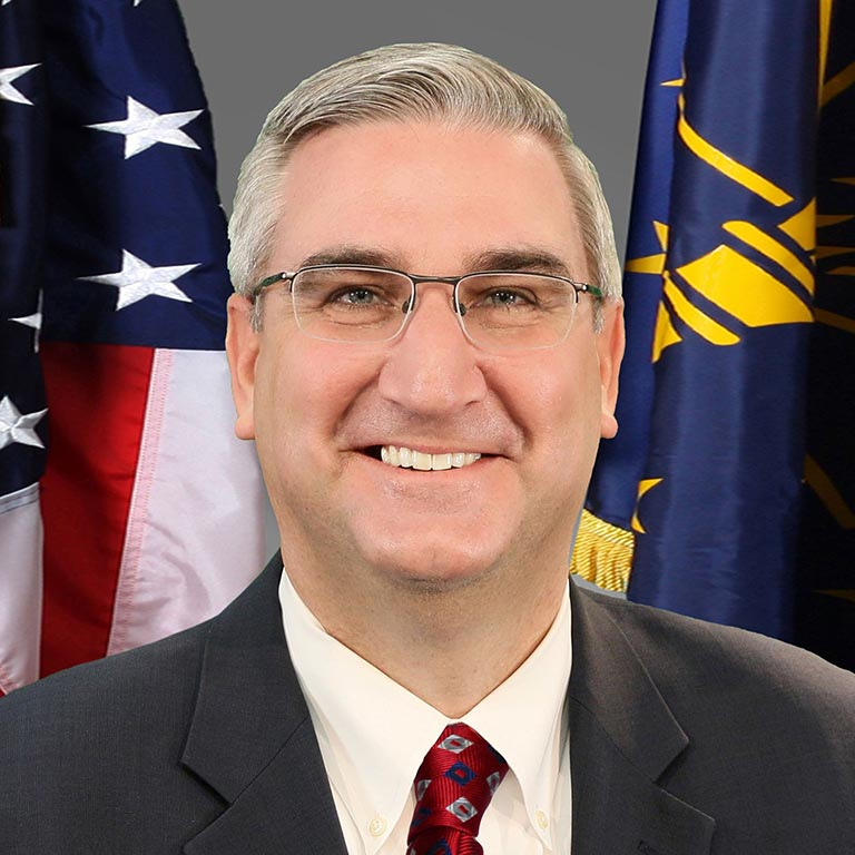 Indiana Governor Eric J. Holcomb