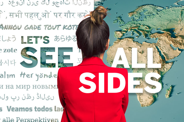 Discover how we're using our global perspective to make connections around the world