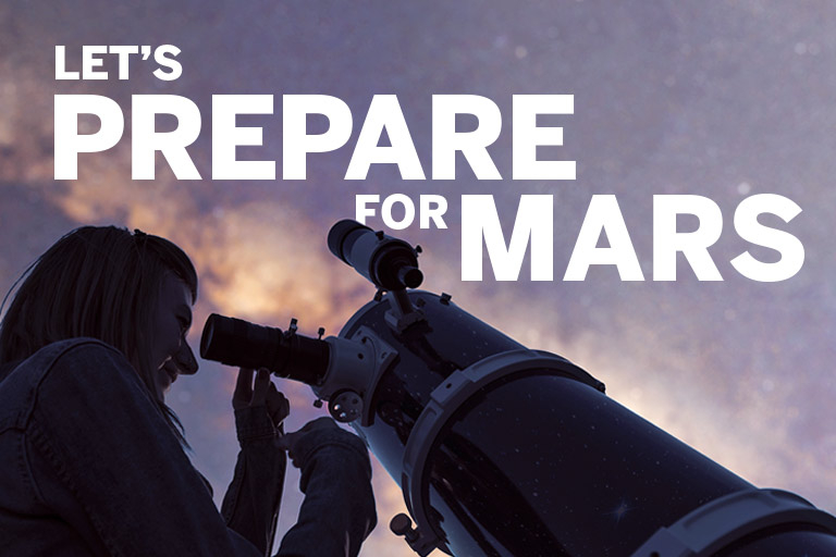 Learn how we're preparing to travel to Mars